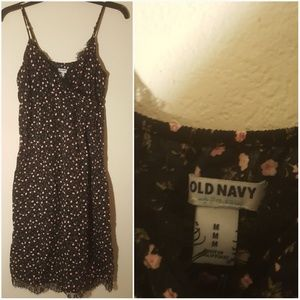Old Navy Floral dress with lace